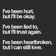 been hurt